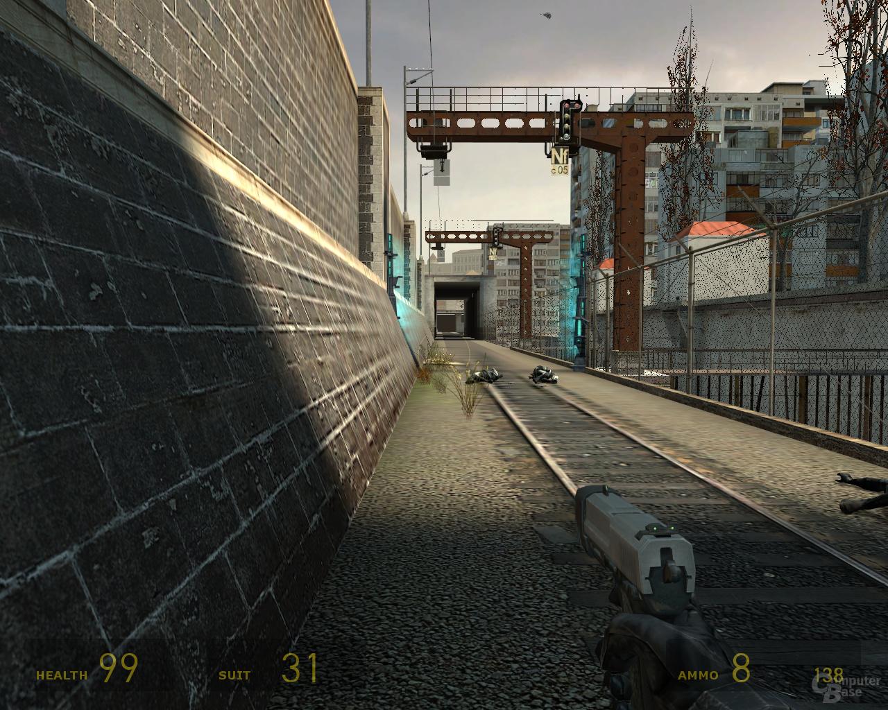 nVidia G92 Half-Life 2 -  1xAF