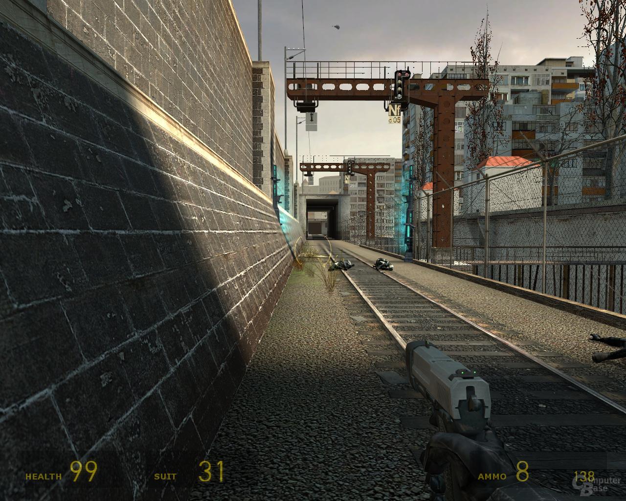 nVidia G92 Half-Life 2 -  4xAF
