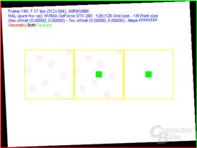 nVidia GT200 FSAA-Viewer - 8xQAA