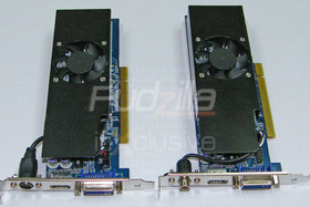 AlbatronGeForce 8600 GT und GeForce 8500 GT