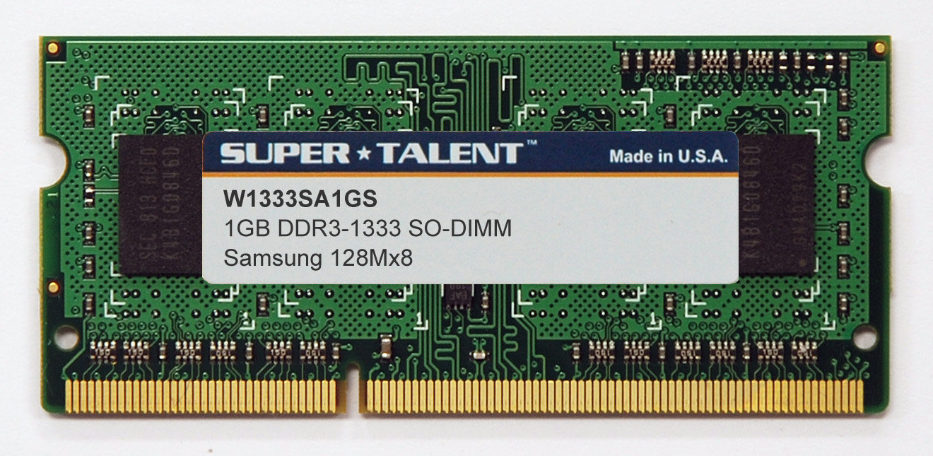 Super Talent DDR3-SO-DIMM