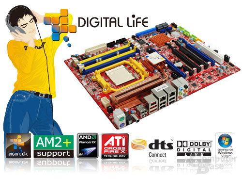Foxconn A79A-S Digital Life