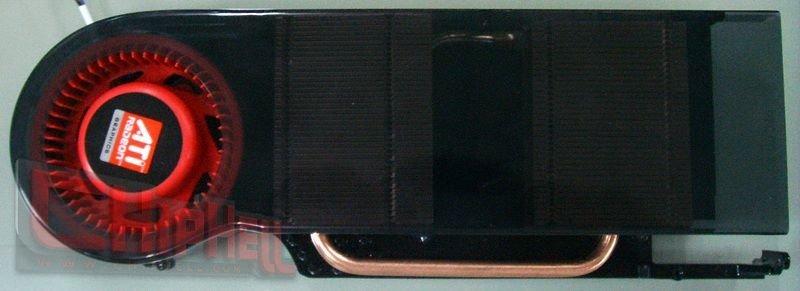 Kühler der ATi Radeon HD 4870 X2 (R700)