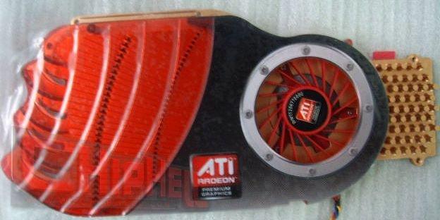 Kühler der ATi Radeon HD 4850 (RV770 Pro)