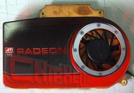 Kühler der ATi Radeon HD 4690 (RV730)