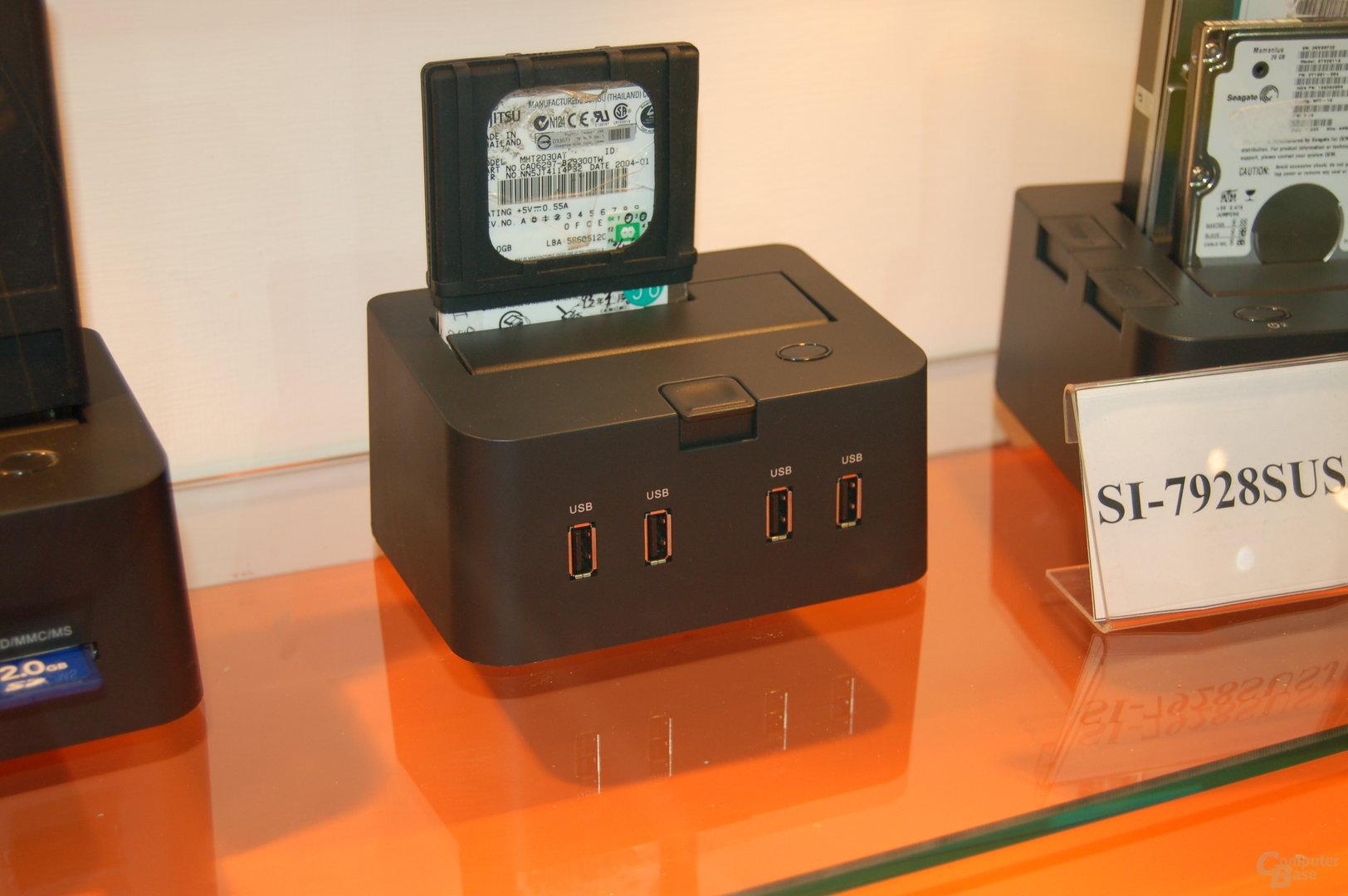 Modell mit 4x USB-Hub