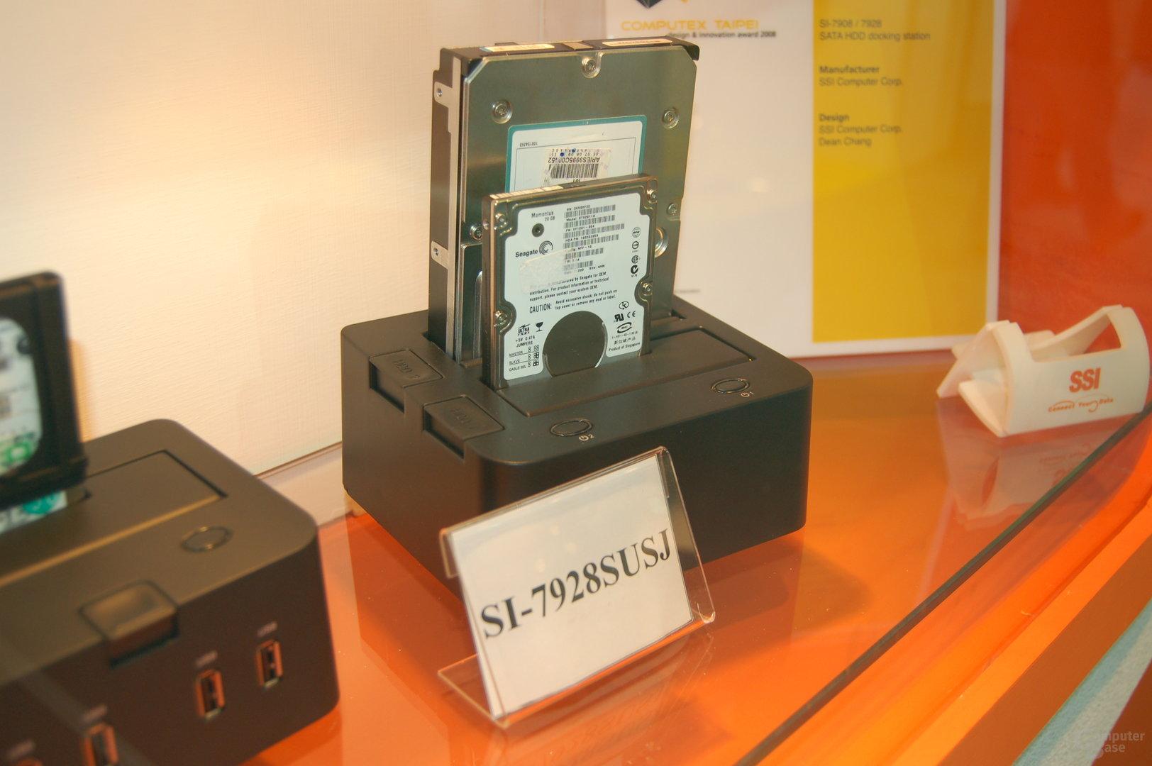 Modell für zwei Festplatten