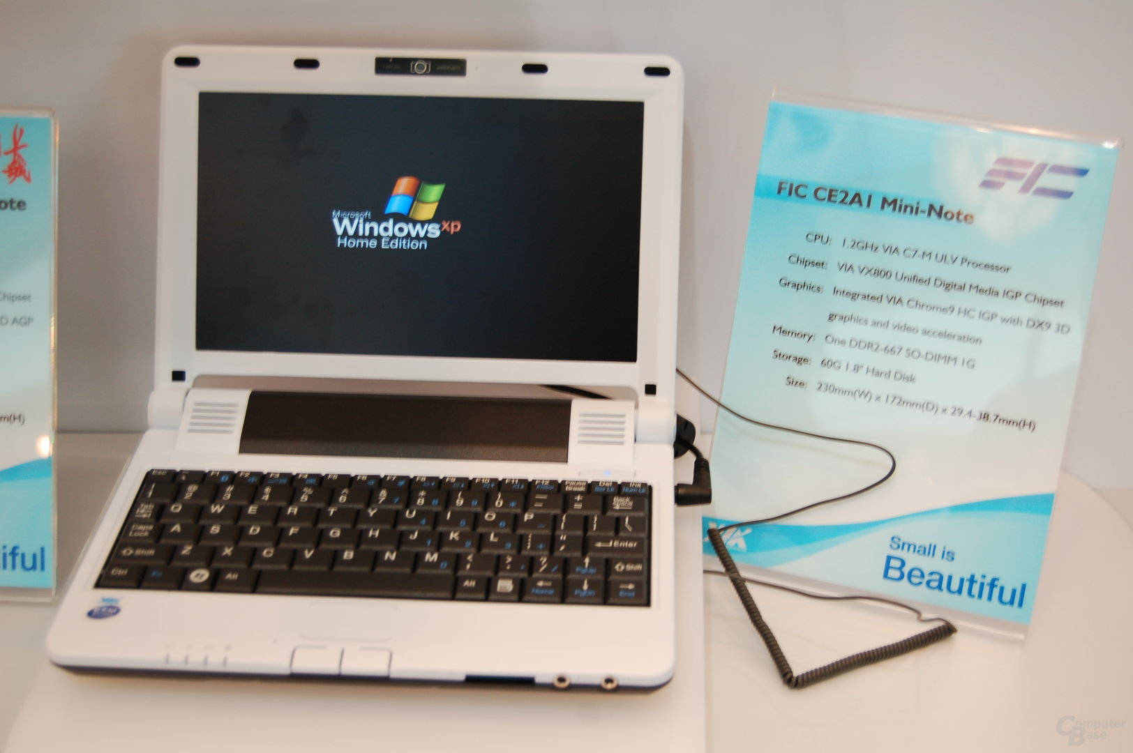 Mini-Notebook mit C7-M