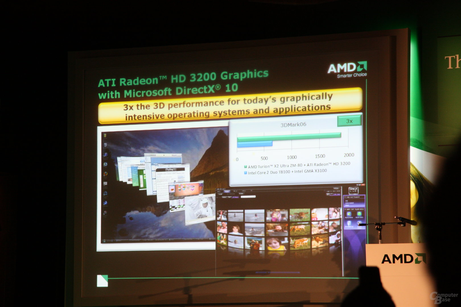 AMD Pressekonferenz 2008 auf der Computex