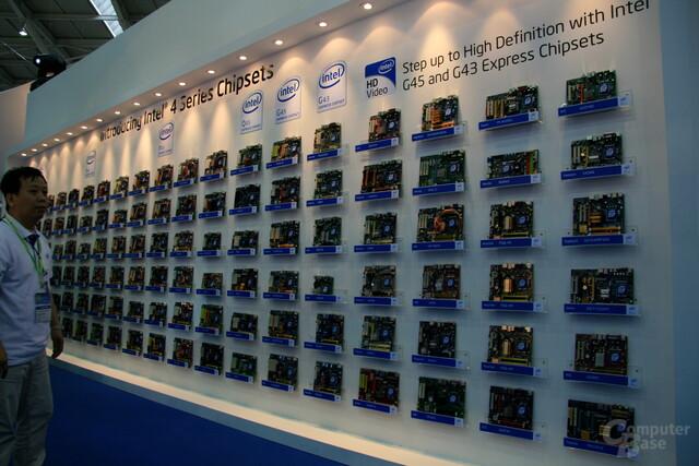 Intel-Mainboard-Wand auf Basis des Eaglelake