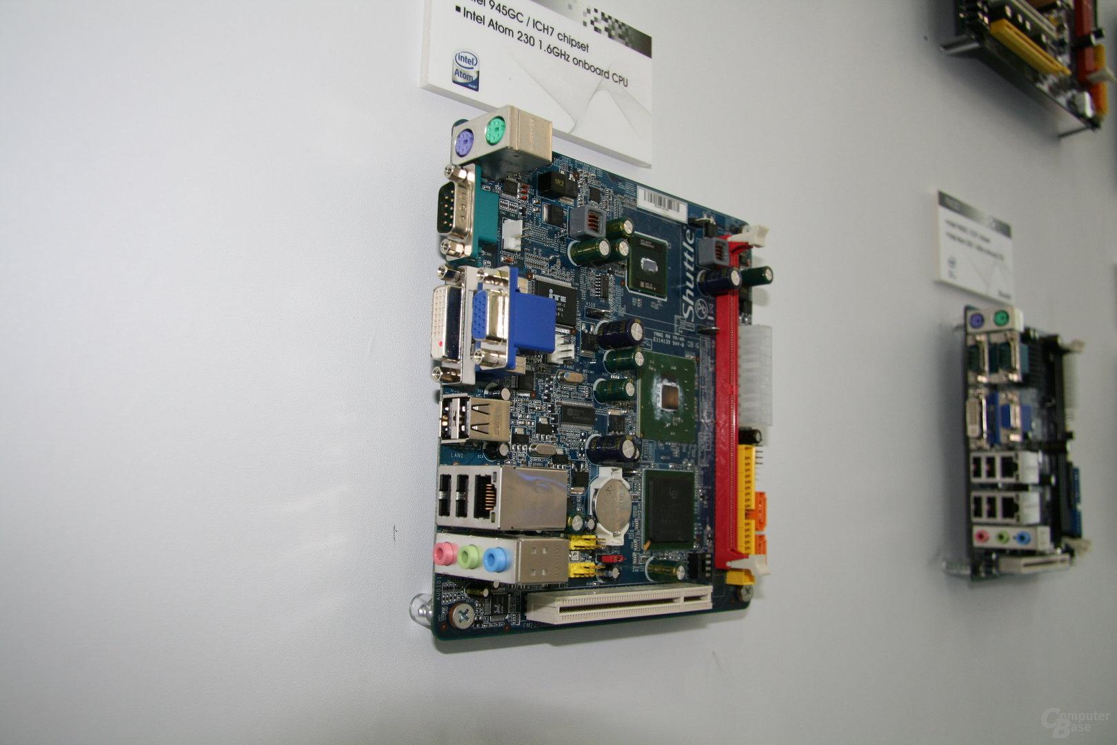 Shuttle auf der Computex