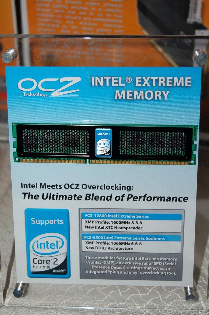 OCZ-Speicher für Intel-Systeme