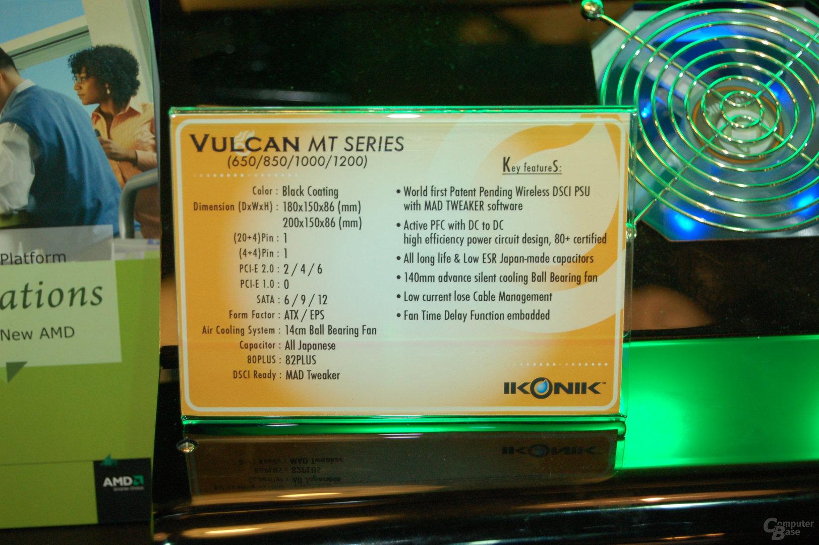 Vulcan MT Series