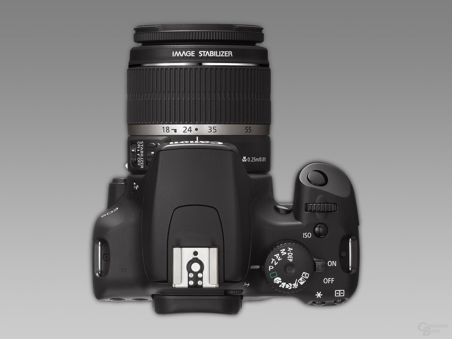 Canon EOS 1000D mit EF-S 18-55mm IS