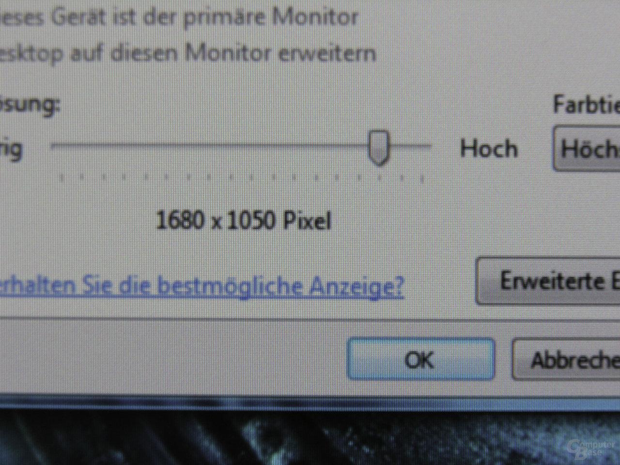 Interpolation auf 1680x1050