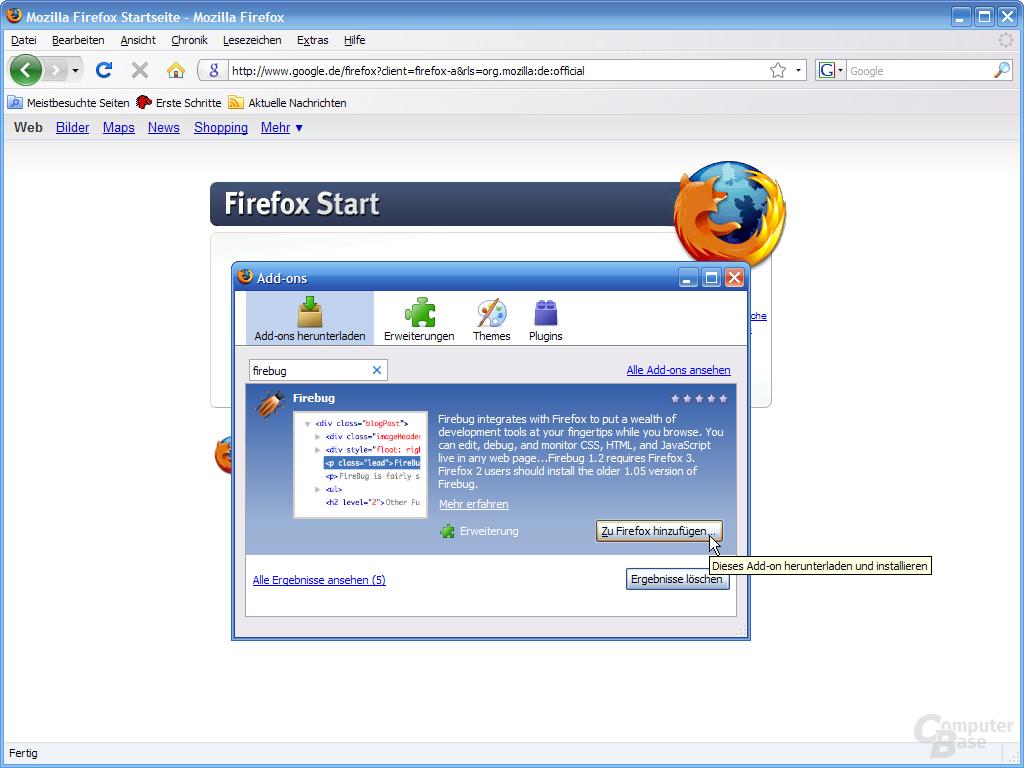 Firefox 3 – Add-ons (2)