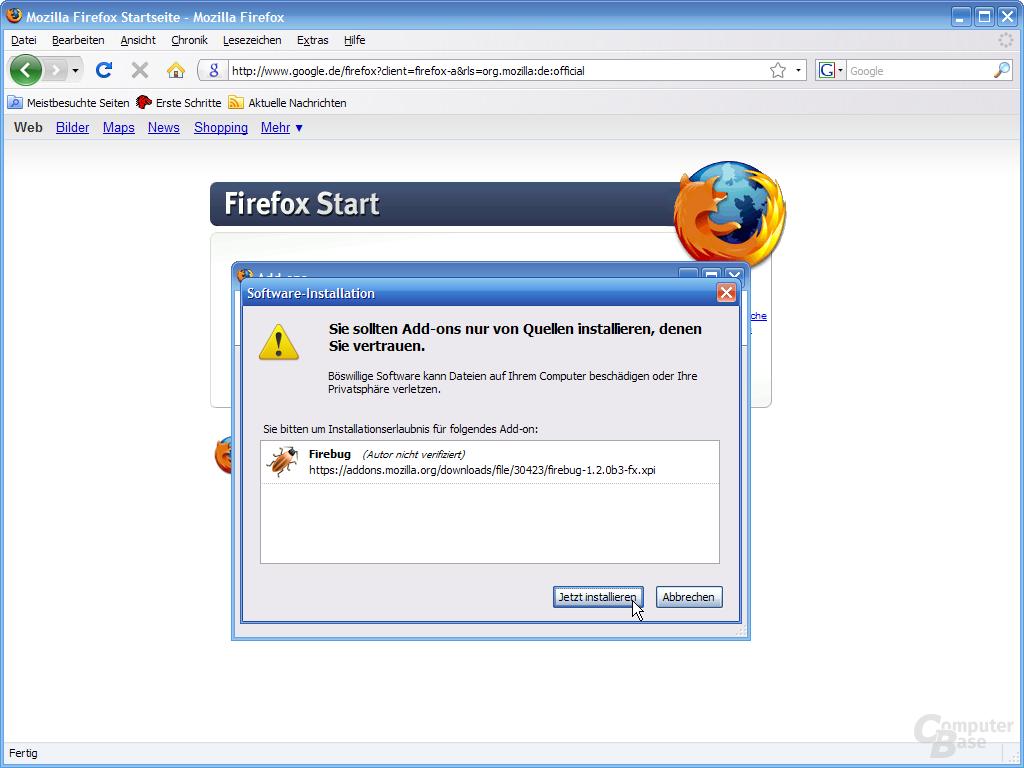 Firefox 3 – Add-ons (3)