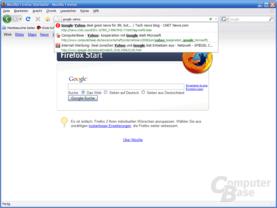 Firefox 3 – AwesomeBar