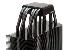 Dicht gedrängtes Heatpipe-Sixpack