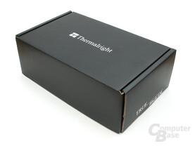 Schwarze Lieferbox