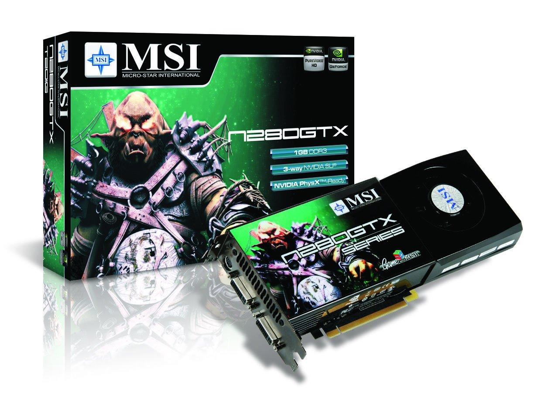 MSI N280GTX-T2D1G