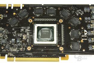 GeForce 9800 GTX+ GPU und Speicher