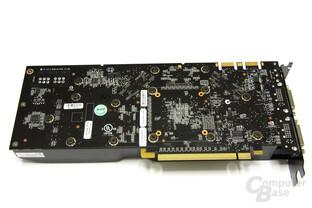 GeForce 9800 GTX+ Rückseite