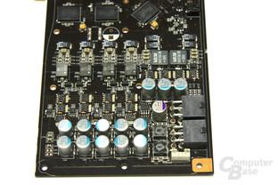 GeForce 9800 GTX+ Spannungswandler