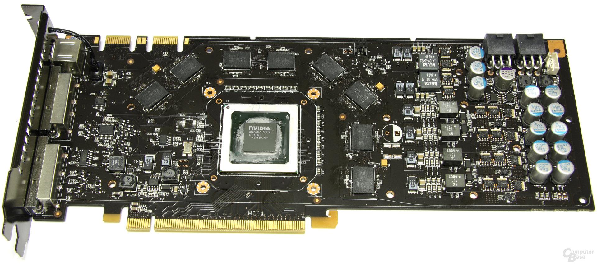 GeForce 9800 GTX+ ohne Kühler
