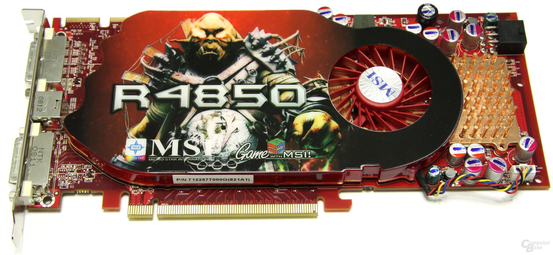 MSI Radeon HD 4850