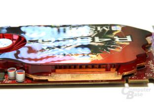 Radeon HD 4850 Kühler Seitenansicht