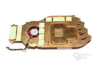 Radeon HD 4850 Kühlerrückseite