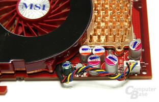 Radeon HD 4850 Lüfter-Anschluss
