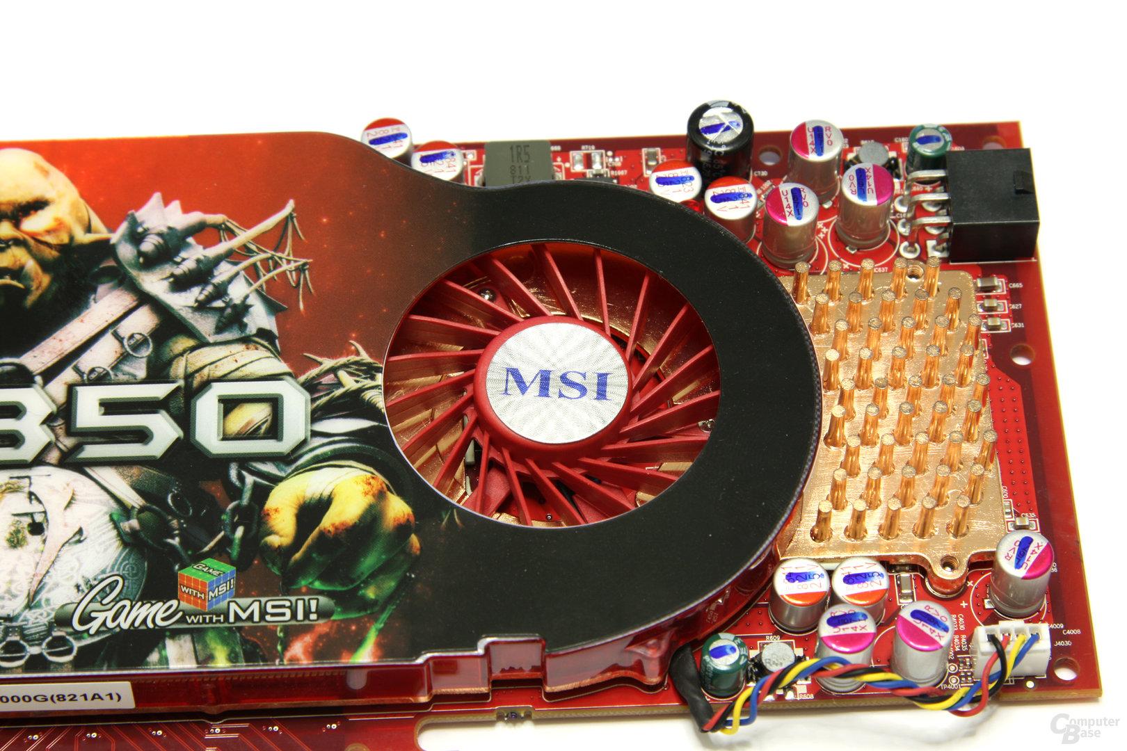 Radeon HD 4850 Lüfter