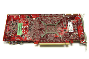 Radeon HD 4850 Rückseite