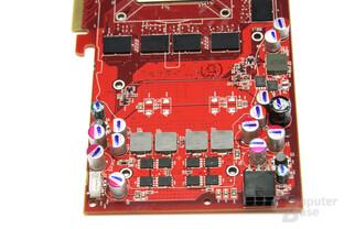 Radeon HD 4850 Spannungswandler