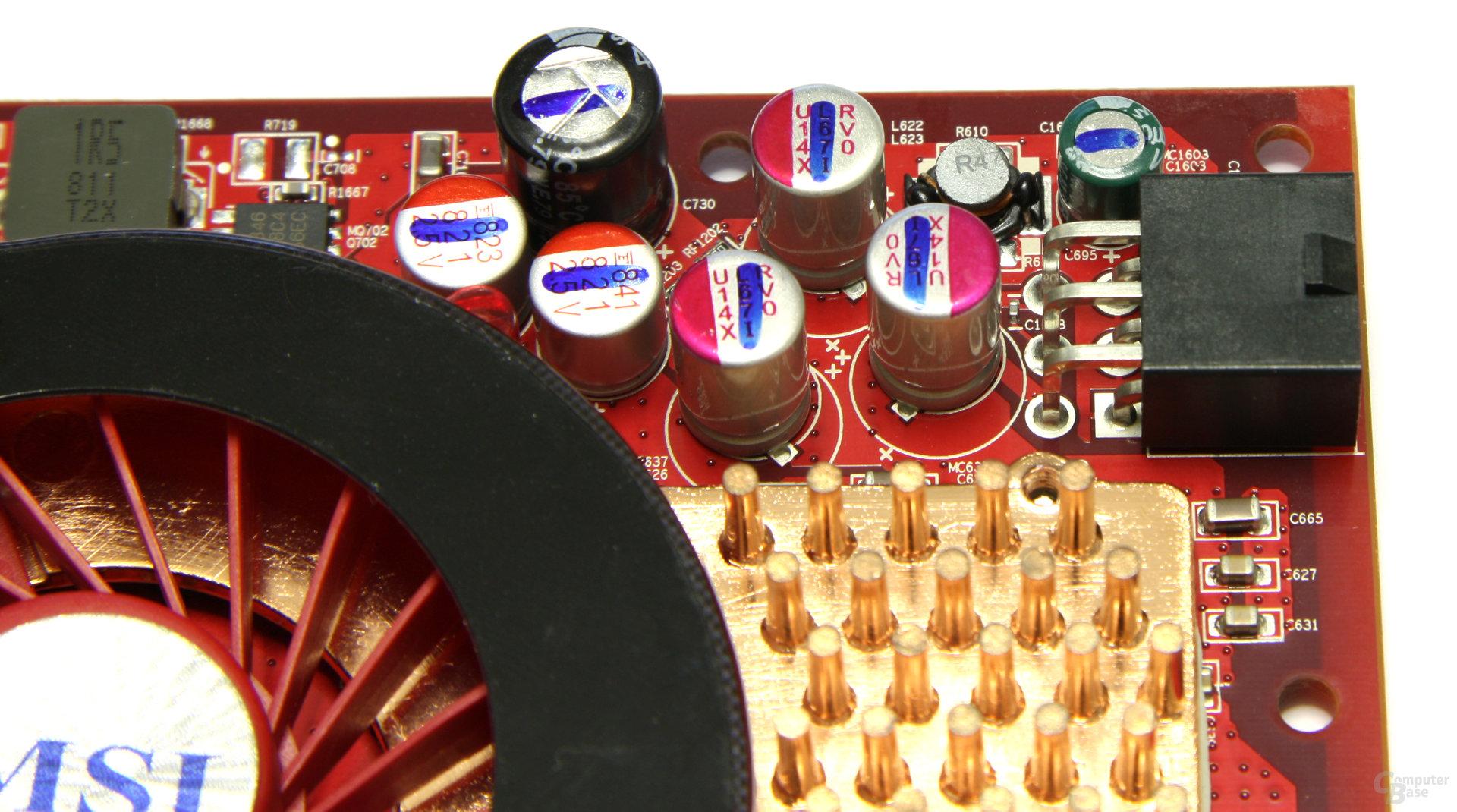 Radeon HD 4850 Stromanschluss