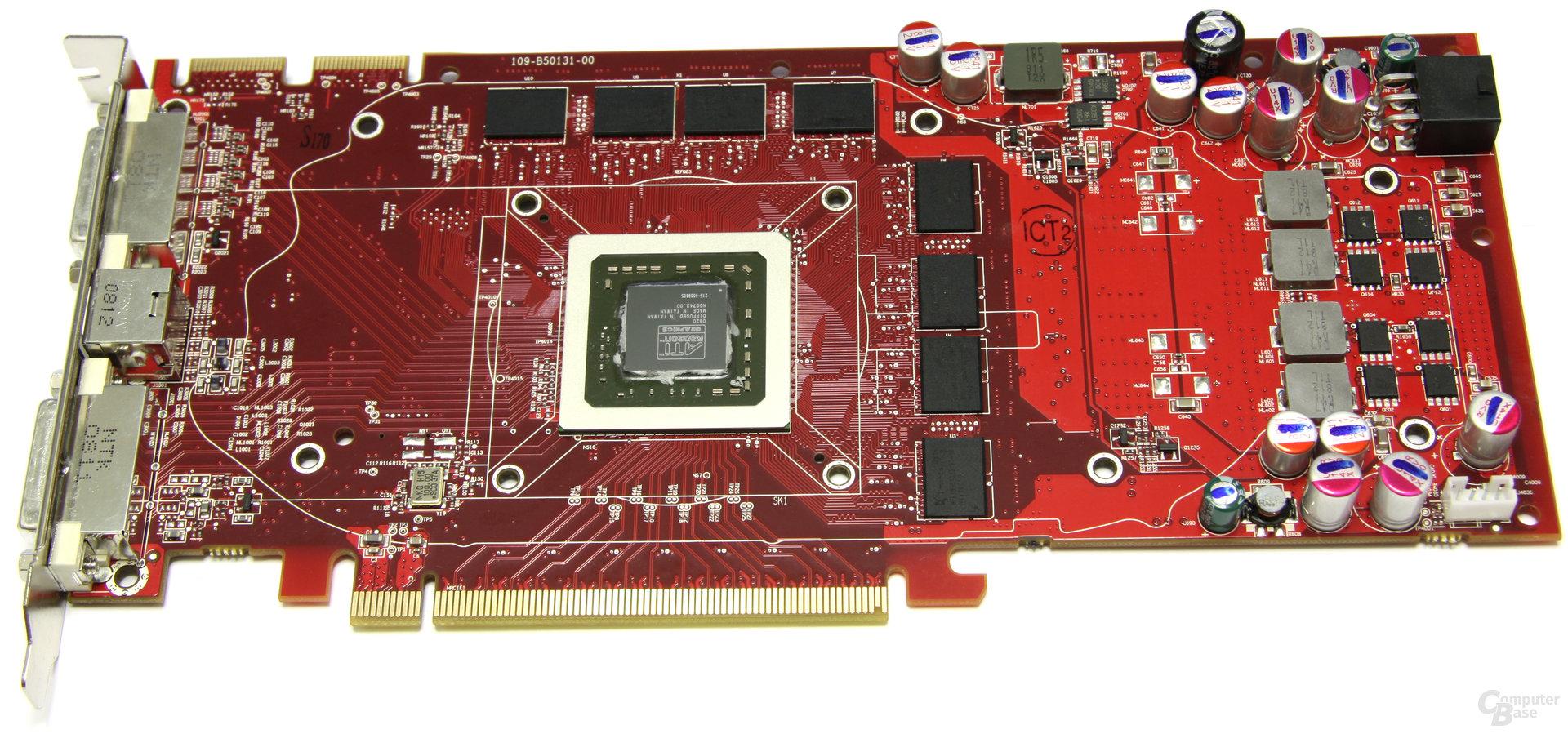 Radeon HD 4850 ohne Kühler