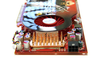 Radeon HD 4850 von hinten