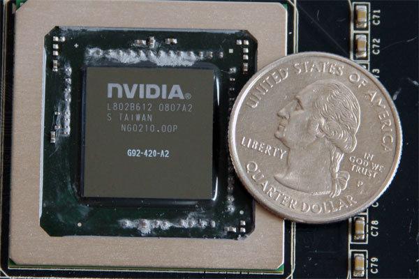Nvidia G92 65 nm