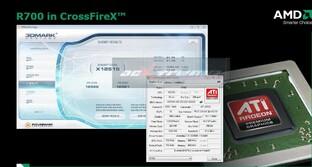 R700-Performance im 3DMark Vantage und GPU-Z-Informationen