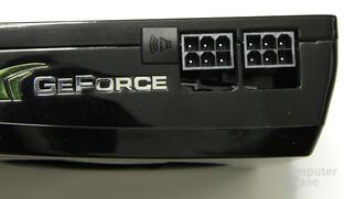 GeForce GTX 260 Stromanschlüsse