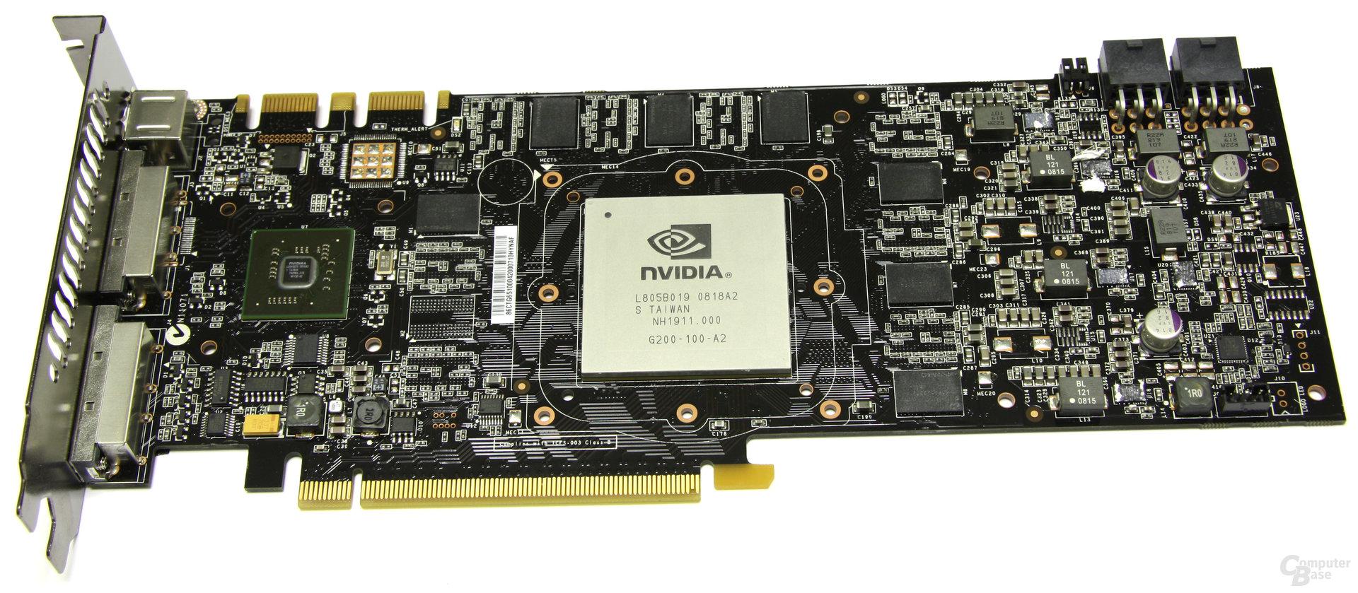 GeForce GTX 260 ohne Kühler
