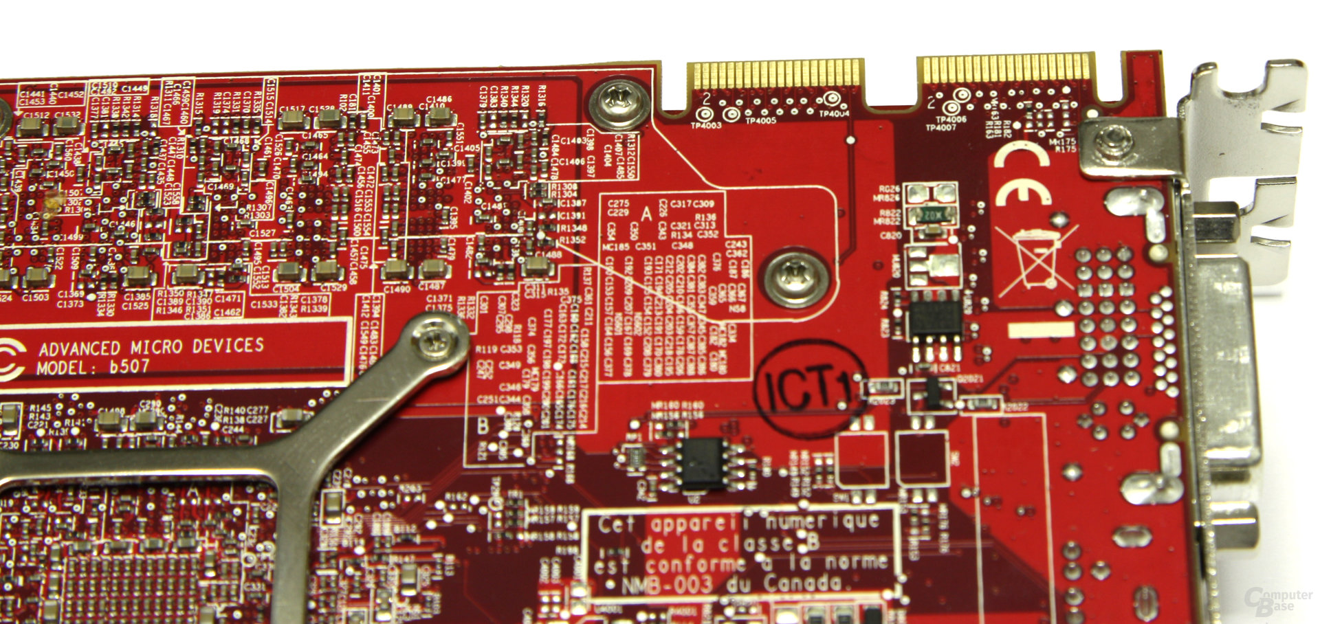 PowerColor Radeon HD 4870 CF-Anschluss