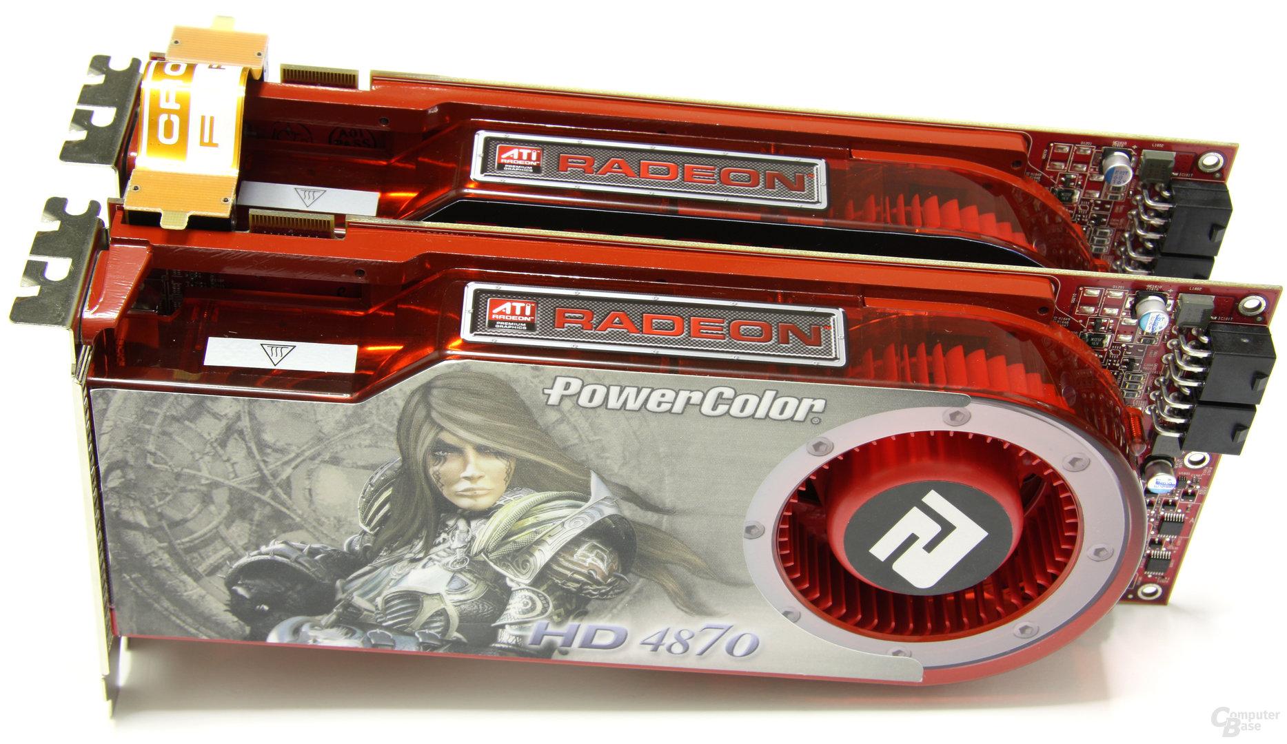PowerColor Radeon HD 4870 CrossFire