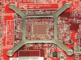 PowerColor Radeon HD 4870 GPU-Rückseite