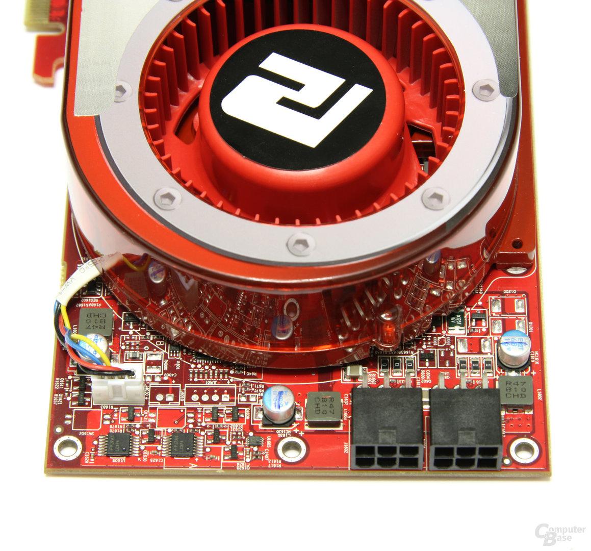 PowerColor Radeon HD 4870 Kartenende