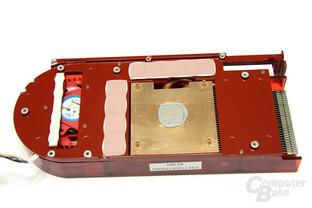PowerColor Radeon HD 4870 Kühlerrückseite