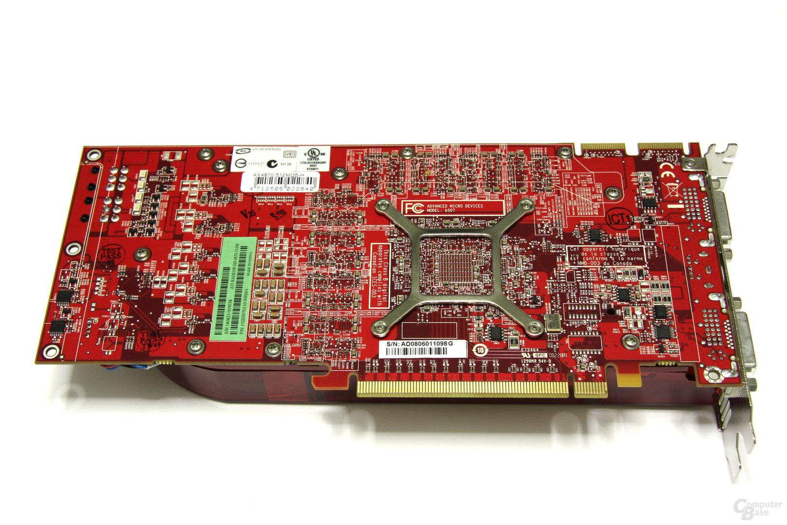 PowerColor Radeon HD 4870 Rückseite