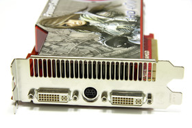 PowerColor Radeon HD 4870 Slotblech